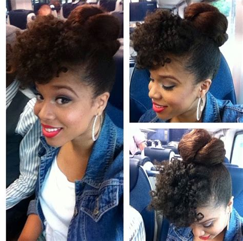 kanekalon for buns how i maintain bomb natural hair on a lazy regimen portia