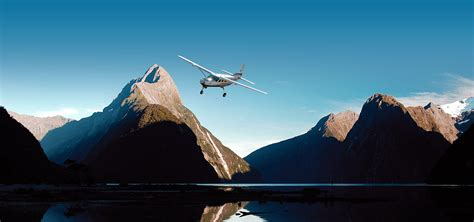Flight From Fly By milford sound scenic flights i queenstown scenic flights