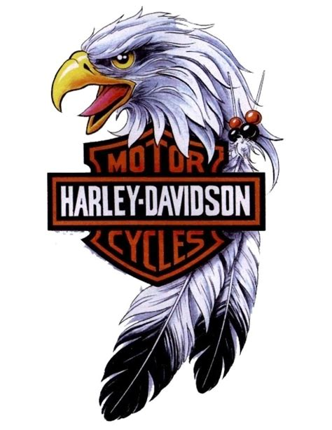 eagle tattoo hd harley davidson pinteres