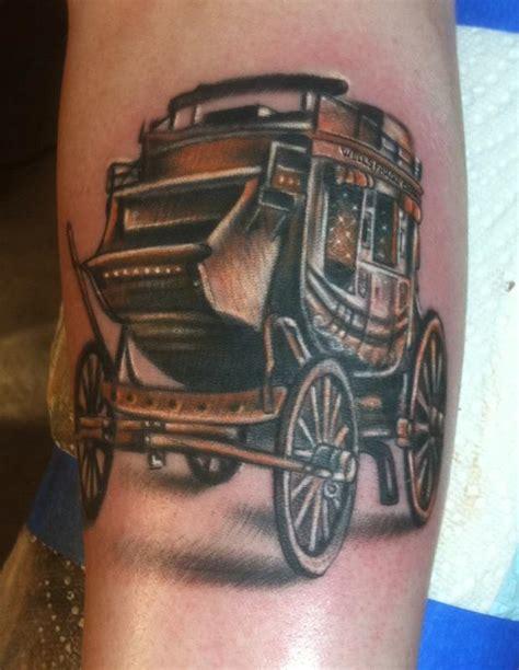 fargo tattoo shops fargo carrage by johnny smith by johnny smith