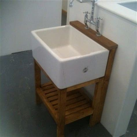 belfast sink bathroom belfast sink pine stand waste tap complete set only