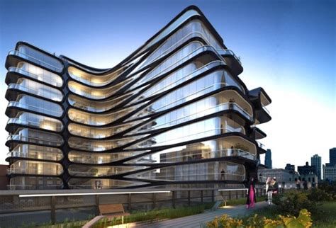 architect companies zaha hadid unveils her first nyc building and it will be