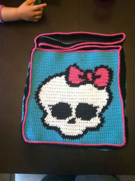 crochet pattern for monster bag holder 41 best images about monster high on pinterest monster