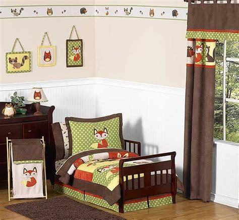 forest friends bedding forest friends toddler bedding set by sweet jojo designs blanket warehouse
