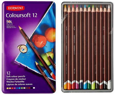 Derwent Colorsoft Coloured Pencil 36 Warna derwent coloured pencils coloursoft 12 pack
