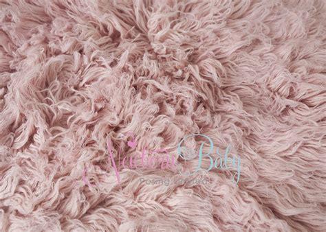 Small Flokati Rug by Pale Salmon Pink Flokati Rug Dense Pile Large