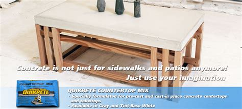 Quikrete Concrete Countertop Mix by Cement And Concrete Products Quikrete 174