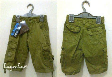 Sz 14 16 Tahun Celana Pendek Anak Branded Motif Kotak jual cargo celana anak bayeekuw