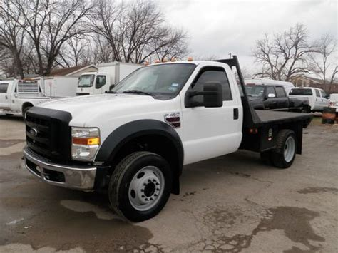 how does cars work 2010 ford f450 engine control sell used 08 f450 6 4 diesel regular cab flatbed manual standard work truck as is where is in