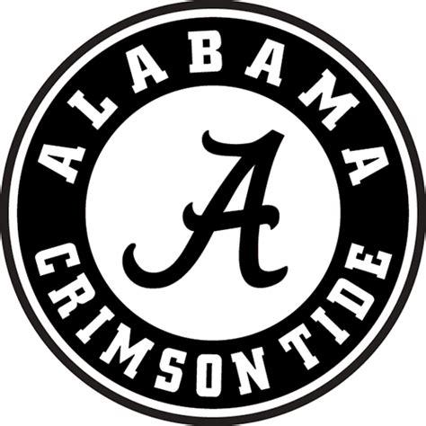 Alabama Crimson Tide Die Cut Vinyl Decal PV288