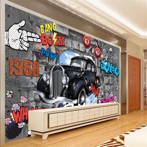graffiti wallpaper rolls cool graffiti bang boom 3d wallpaper for walls 3d covering