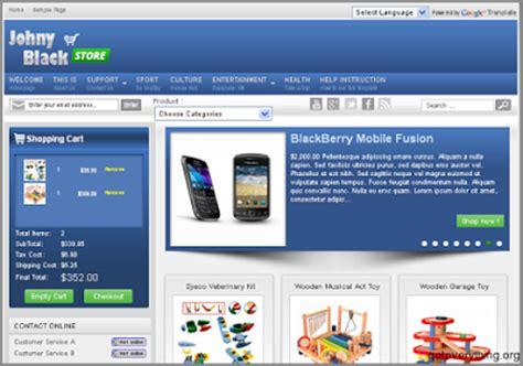 template toko online gratis untuk website source code aplikasi template blog untuk toko online