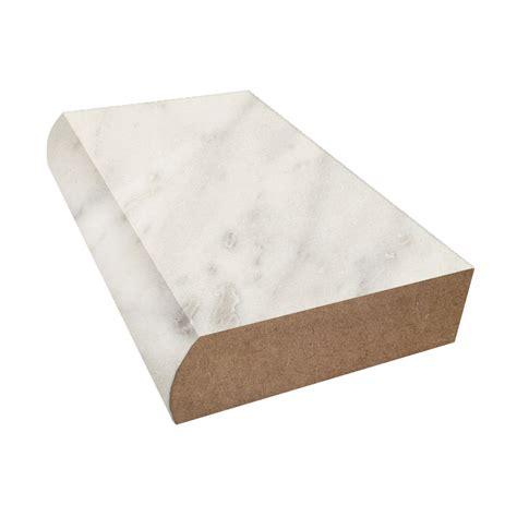 bullnose countertop edge bullnose edge formica countertop trim carrara bianco