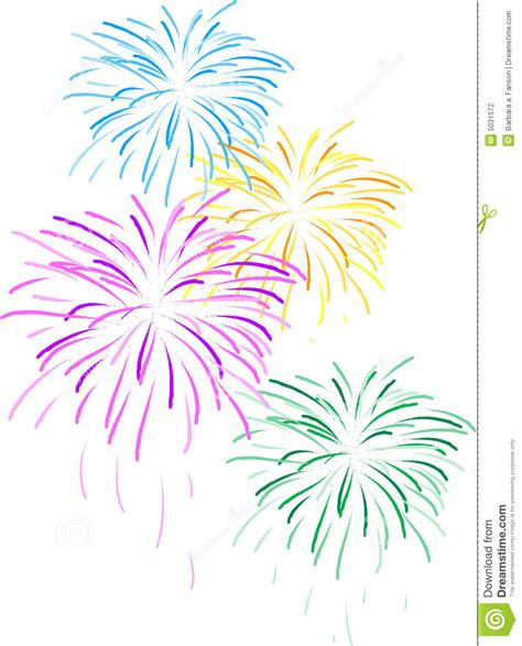 fuochi d artificio clipart fireworks stock illustration image of clipart fireworks