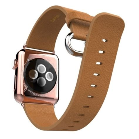 Murah Apple Hoco Leather Band Pago Style 42mm Blue hoco pago style leather band for apple 42mm brown