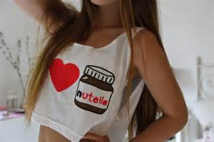 Urban Preppy Style - tank top jazrox nutella trendy style fashion cropped