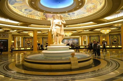 How Many Rooms Does Caesars Palace by One Of The Many Foyers In Caesars Picture Of Caesars