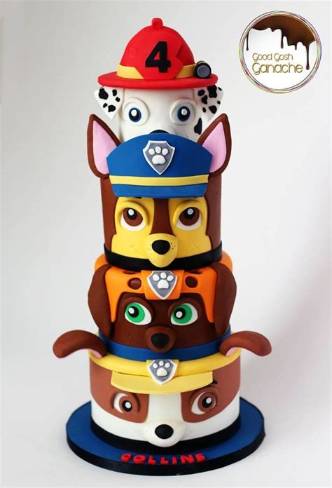 paw patrol cake decorations 77 best paw patrol images on baby ducks