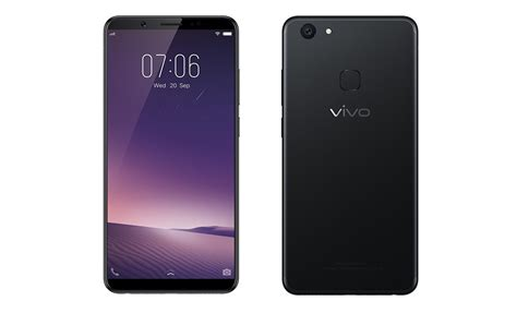 Vivo V7 Plus Smartphone vivo launches v7 plus with fullview display 4gb ram 24mp