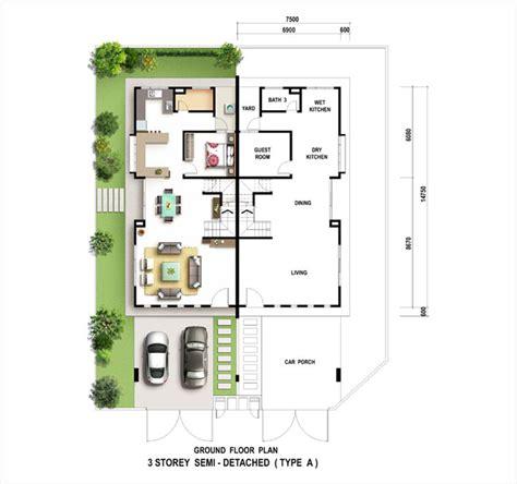 setia walk floor plan setia greens citrus semi d penang property talk