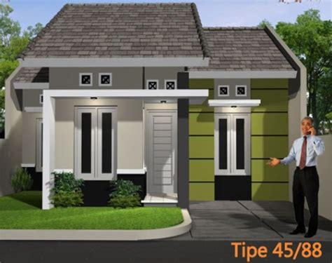 desain rumah tipe  hunian ideal bertema minimalis