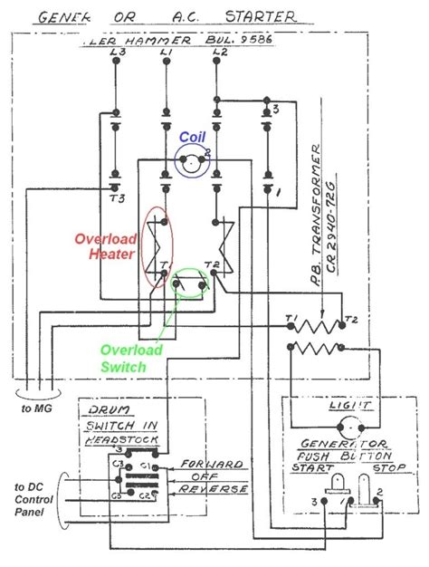 telemecanique contactor wiring diagram cable wiring