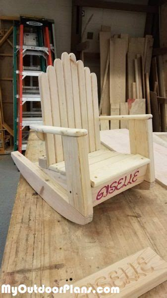 diy kids adirondack chair myoutdoorplans