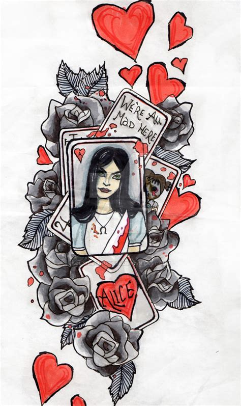 alice madness returns tattoo by claire louise85 on deviantart
