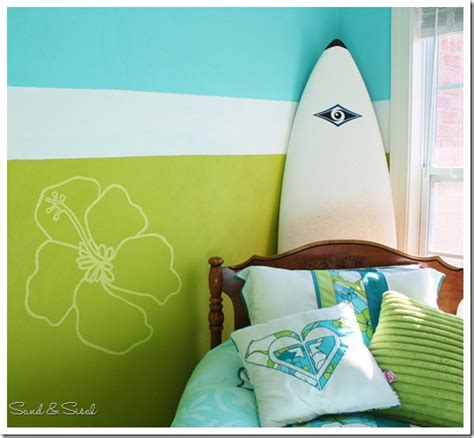 girls surf bedroom roxy girl teen bedroom