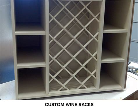 Custom Wine Cabinets by Revive Cabinet Refinishing