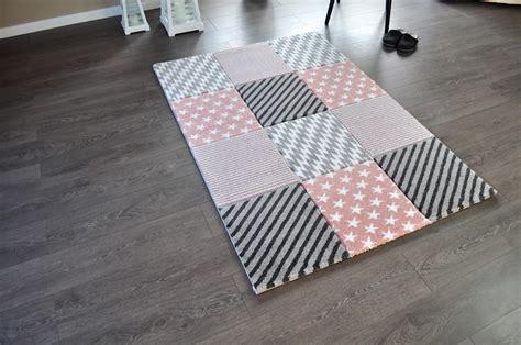 Teppiche 90 X 150 by Hochwertiger Design Teppich Relief Tf 21 Rosa Grau Wei 223