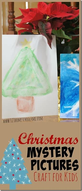 mystery crafts for painting mystery pictures