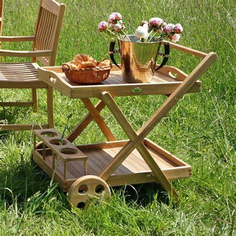 servierwagen outdoor ploss new teak wagen rollbar servierwagen outdoor