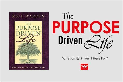 the purpose driven life 0310803063 purpose driven life main cus christian union