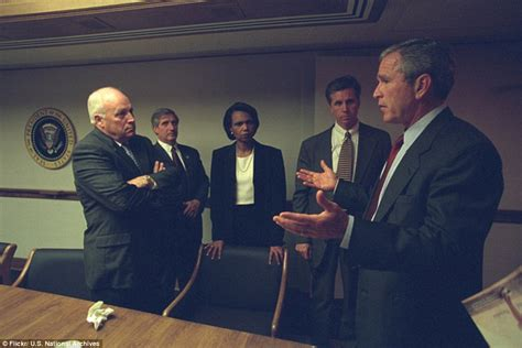 Jet Cabinet Saw The White House On 9 11 Shows George Bush And Cheney