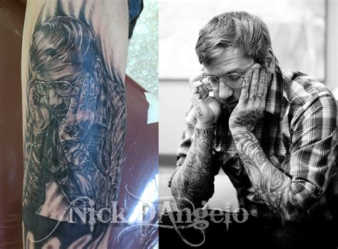 dallas green tattoos dallas green by nickdangelotattoos on deviantart