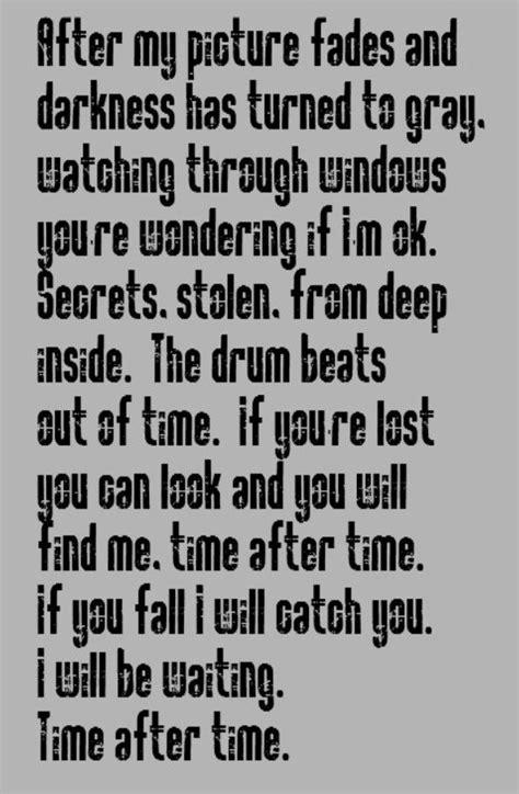 time after time testo cindi lauper time after time song lyrics lyrics