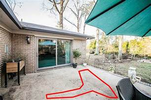 drainage for patio raised concrete patio drainage home improvement stack