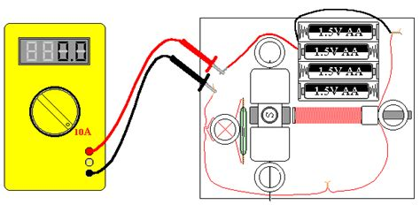 how can you measure electric current through a resistor simple electric motors experiments and applications