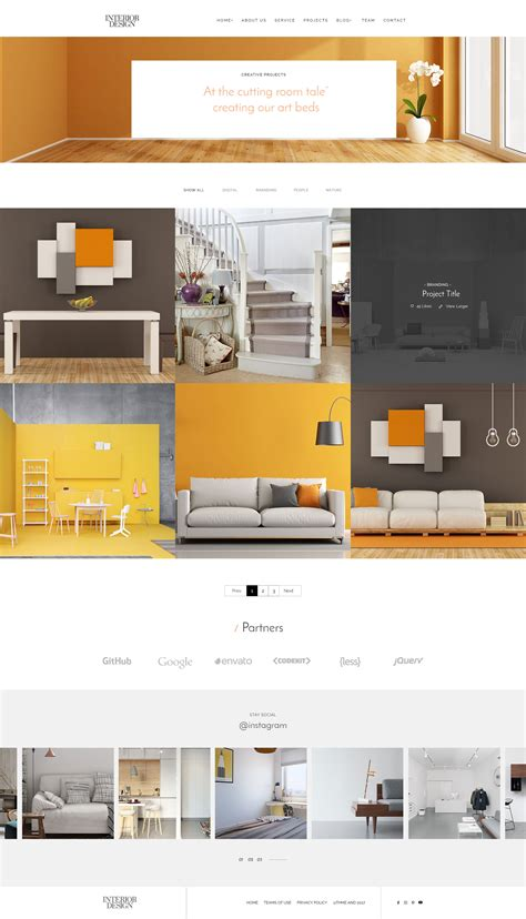 themeforest interior design interior design psd template by mapsap themeforest