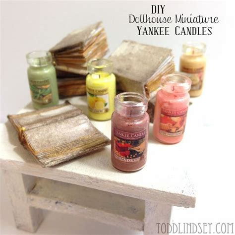 how to make doll house things diy dollhouse miniature yankee candles mini things pinterest dollhouse