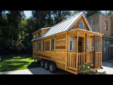 mini homes home family a walkthrough of a mini luxury home youtube