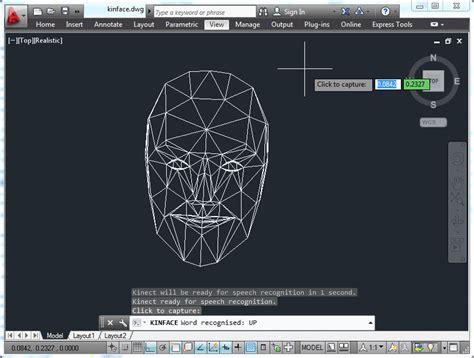 www autocad integra 231 227 o do autocad com rastreamento kinect f 225 brica do