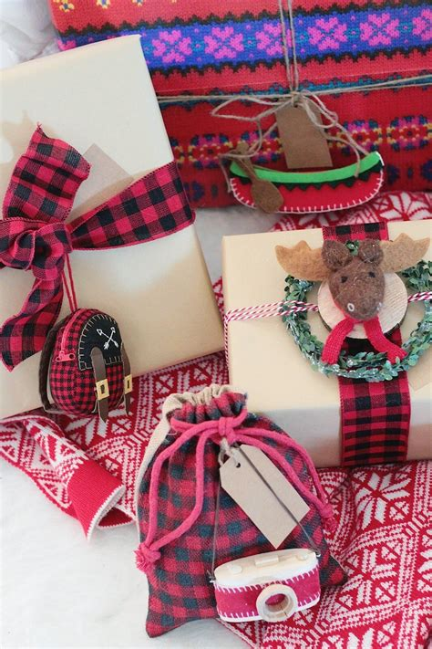 christmas gift wrap between two coasts