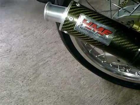 Knalpot 150 Rr Stainless test knalpot hmf stenless carbon on 150 rr