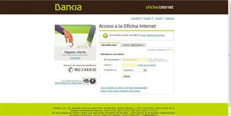 oficina bankia online dep 243 sito 12 m 225 s internet de bankia comparativa de dep 243 sitos