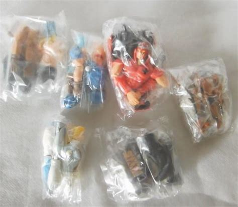 Bandai Characters Collection Trading Figure bandai kinnikuman gashapon 6 trading collection