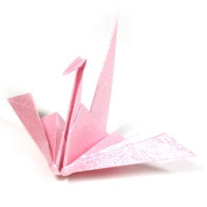 Traditional Origami Crane - how to make a traditional origami crane ii page 1
