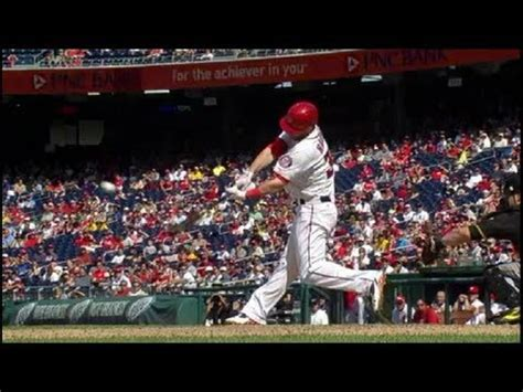 mike trout swing analysis bryce harper 10000 fps home run baseball swing hitting