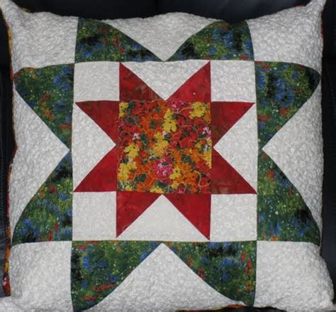 Rising Quilt Pattern mywebquilter pretty quilted rising pillow for